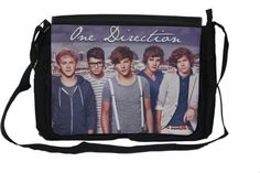 """One Direction Large Messenger Bag, """"Up on Top"""" New One Direction Gifts, Large Messenger Bags, Harry Styles Pictures, Cute Bags, Drawstring Backpack, Computers, Backpacks, Amazon, Top"""