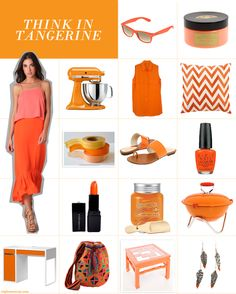 4ca64897 Tangerine is the best color for summer. Colour Trends, Happy Colors,  Chocolates,
