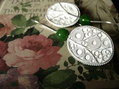 earrings Silver Filigree