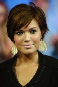 Cortes de pelo para cara redonda: Fotos de los cortes de pelo - Peinado corto cara redonda