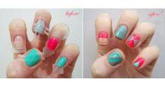 Fita adesiva para as unhas! http://vilamulher.com.br/beleza/corpo/fita-adesiva-a-amiga-das-unhas-decoradas-2-1-13-990-e-51.html #nails #unhasdecoradas #unhas #esmaltes