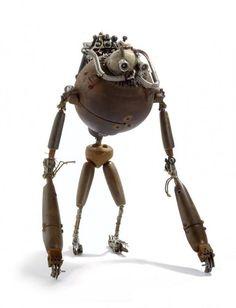 Стимпанк игрушки Stephane Halleux - Ярмарка Мастеров - ручная работа, handmade