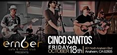 It will be awesome #cincosantoslive hope to see you there!