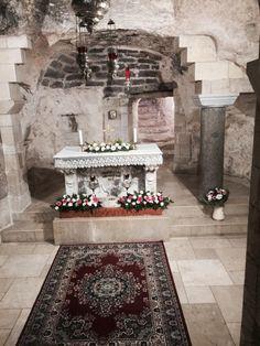 Ołtarz w Nazaret.