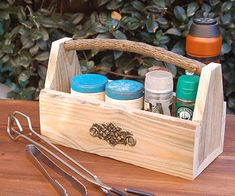Reclaimed Pallet Napkin or Spice Holder - All