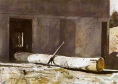 Музей рисунка - Andrew Newell Wyeth (1917-2009гг).