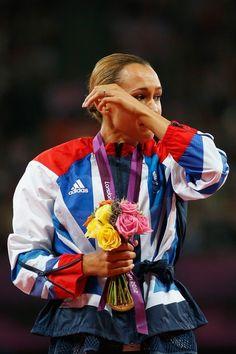 Jessica Ennis at her first olympics. Jessica Ennis Hill, Running Motivation, Olympics, Athlete, Inspirational, London, Sport, Gold, Run Motivation