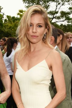 The actress stole the show last night at the Serpentine's summer party. With tousled, undone hair and minimal make-up, Sienna Miller channelled her signature boho vibe. For a similar next-day texture, employ Oribe Texturising Spray, £39, to the roots of your hair and ruffle gently. It's part hairspray, part dry shampoo and it gives you that undone texture without the grit that some sprays leave. To mimic that healthy glow, employ Burberry Fresh Glow Luminous Base, £34; it's second to none…