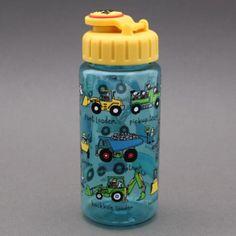 Gourde Engins de chantier Tyrrell Katz sans BPA Systéme d'ouverture et fermeture facile à manipuler par un enfant 17 cm de haut et 6 cm de diamètre, contient 400 ml, le poids et la quantité idéale pour un enfant. Les enfants vont adorer pour le sport, les goûters, les promenades, etc. Jolie idée cadeau. http://www.lilooka.com/fr/accessoires-enfants-ecole-gourdes-sacs-boite-a-gouter/1119-gourde-engins-de-chantier-tyrrell-katz-sans-bpa.html