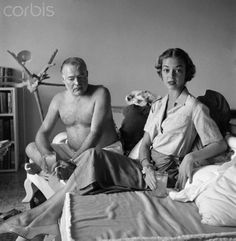Ernest Hemingway in Cuba with Jean Patchett