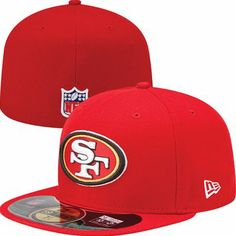 c926d926c41 Mens San Francisco New Era Scarlet On-Field Player Sideline Fitted Hat