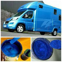 Stunningly blue! #KPHLTD #HorseHour #horseboxes #Equihour #EquineHour