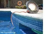 An easy step by step guide on how to replace a swimming pool light bulb. Swimming Pool Lights, Swimming Pools, Floating Pool Lights, Diy Pool, Pool Cleaning, Night Time, Light Up, Bulb, Outdoor Decor