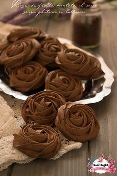 MPOWER/// Rose di frolla montata al cacao senza glutine e latticini