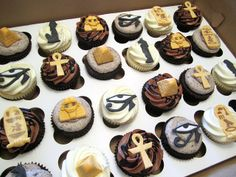 Egyptian Birthday Cupcakes | Flickr - Photo Sharing!