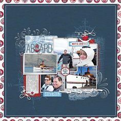 Anchors Away Cruise Scrapbook Complete Collection