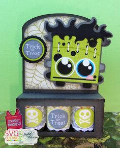 The Cricut Bug: Squarey Monster Treats