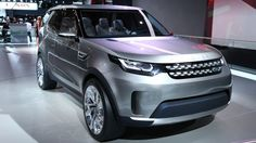 The Land Rover Discovery Vision concept on display at the 2014 New York Auto Show (Photo: ...