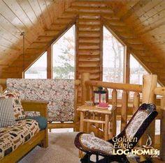 Custom Plan 2 - Loft Sitting Area