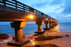Take a stroll on the beautiful Shark Rock Pier in Port Elizabeth, South Africa.