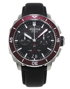 Alpina Watches Seastrong DIver 300 Chronograph Big Date ref. AL-372LBBRG4V6