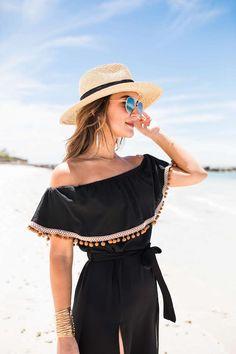 eb3a6af46c6 Pom Pom Maxi Dress (Carrie Bradshaw Lied)