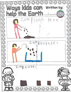 Earth Day is coming: A Writing Freebie, and the flexibility of Graphic Organizers Teaching Main Idea, Teaching 5th Grade, 8th Grade Math, Grade 1, Teaching Activities, Teaching Science, Teaching Resources, Classroom Resources, Stem Activities