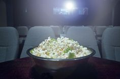Cinema. Bklyn. Booze and food served. Cartoons on weekends but also regular movies