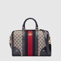 Gucci Vintage Web embroidered bag