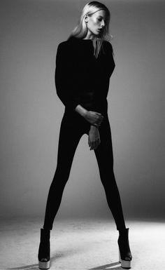 mihmic:  backspaceforward:  Charlene Högger @ No Toys Agency  x  他媽的我