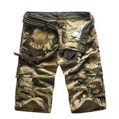 Hajotrawa Boys Drawstring Camo Lovely Holiday Beachwear Summer Short Pants