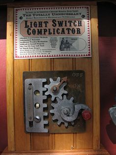 the totally unnecessary light switch complicator