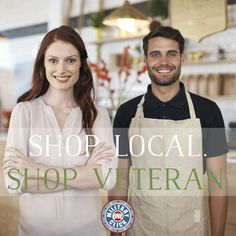 Support your local veterans and Small Business Week.