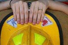 Firefighter engagement photoshoot
