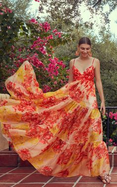 Pretty Dresses, Beautiful Dresses, Moda Floral, Bridesmaid Dresses Online, Mode Boho, High Fashion, Womens Fashion, Summer Dresses, Formal Dresses