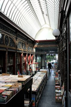 Galerie Bortier is a shopping arcade from 1848 in downtown Brussels designed by Jean-Pierre Cluysenaer and houses antiquarian bookstores and art galleries.