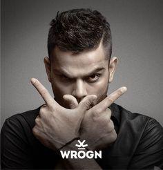 Wrogn_Virat Kohli on Behance