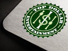 Top Dollar Entertainment  |  Logo Design
