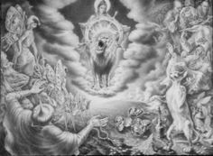 """Saatchi Art Artist Alexander Donskoi; Drawing, """"What Exactly The Cat Explained to You."""" #art"""