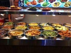 varied #Indian buffet! Check out my #Singapore food guide:
