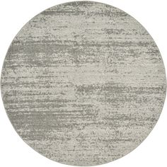 Unique Del Mar Loft Dark /Off-white Indoor/Outdoor Round Rug