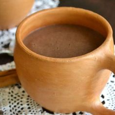 Chocolate Atole – Mexican Hot Chocolate....You don't know hot chocolate till you've had this....Our absolute favorite and tradition each Christmas/New Year's