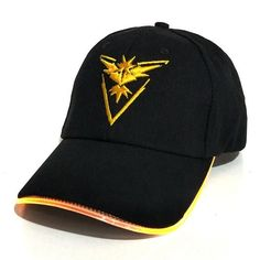 523bc2b2f40 Pokemon GO baseball cap pocket Pokemon game theme LED optical cap Pocket  Monster luminous hat M203