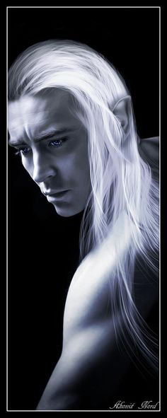 #Thranduil (I know who he's looking at in this image... beautiful, thoughtful expression)