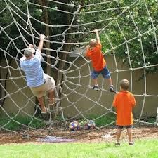 DIY Climbing Spider Web **ANW - like the cargo net**