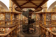 The abbey library of Maria Laach