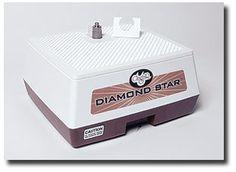 NEW / GLASS GRINDER - Glastar Diamond Star with 3/4 inch Diamond Grinder Bit. 5 Year Warranty.  A Water Reservoir cools Bit while grinding de GlassSupplies en Etsy https://www.etsy.com/es/listing/76174714/new-glass-grinder-glastar-diamond-star