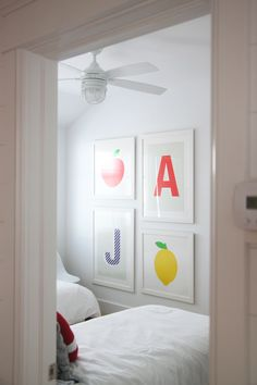 Day trip to Carlton Landing with Dad Boys Bedroom Decor, Baby Room Decor, Boy And Girl Shared Bedroom, Rental Decorating, White Bedroom, Kid Spaces, Pencil Shavings, Girl Room, Benjamin Moore