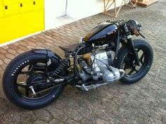 #BMW #bobber #motorcycle