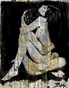 "Saatchi Art Artist Loui Jover; Drawing, ""union"" #art"